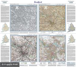 Bradford (1843) Past & Present Folded Sheet Map