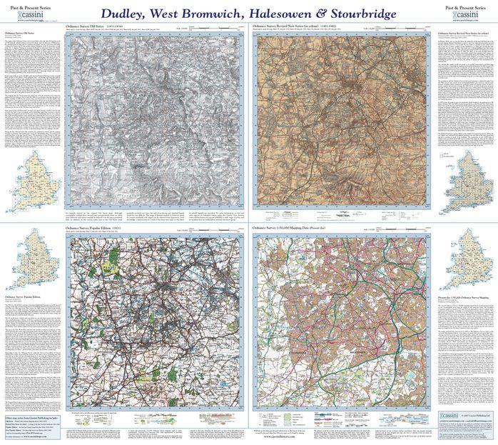 Dudley, West Bromwich, Halesowen & Stourbridge