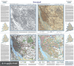 Liverpool (1840) Past & Present Folded Sheet Map