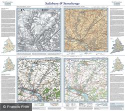 Salisbury & Stonehenge (1811) Past & Present Folded Sheet Map