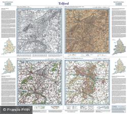 Telford (1833) Past & Present Folded Sheet Map