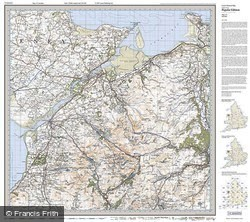 Snowdon (1922) Popular Edition Folded Sheet Map