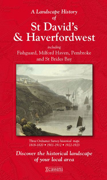 St David's & Haverfordwest (1818) 3-Map Boxed Sets Folded Sheet Map