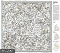 Stafford & Telford (1921) Popular Edition Folded Sheet Map