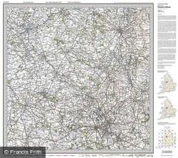 Stoke-on-Trent (1921) Popular Edition Folded Sheet Map