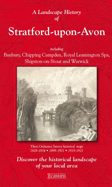 Stratford-upon-Avon (1828) 3-Map Boxed Set