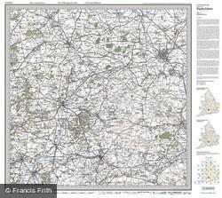 Swindon & Devizes (1919) Popular Edition Folded Sheet Map