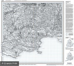 Tenby & Pembroke (1818) Old Edition Folded Sheet Map