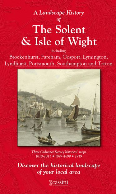 The Solent & Isle of Wight (1810) 3-Map Boxed Set