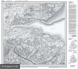 The Thames Estuary (1805) Old Edition Folded Sheet Map