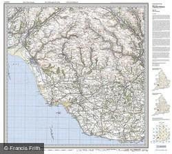 Vale of Glamorgan (1919) Popular Edition Folded Sheet Map