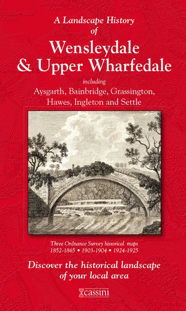 Wensleydale & Upper Wharfedale (1852) 3-Map Boxed Sets Folded Sheet Map