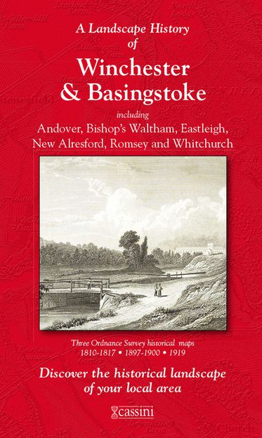 Winchester & Basingstoke (1810) 3-Map Boxed Sets Folded Sheet Map
